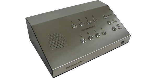 """<span class=""""entry-title-primary"""">ICM-8C</span> <span class=""""entry-subtitle"""">Intercom Master - 8 Station Desk Console</span>"""