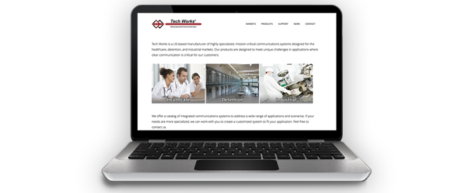 Tech Works Launches Updated Website