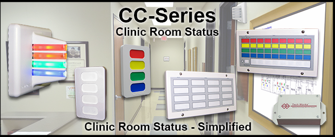 "<span class=""entry-title-primary"">Tech Works CC-Series Provides State-of-the-Art Communications for Healthcare Facilities</span> <span class=""entry-subtitle"">Announcing the Launch of Tech Works' CC-Series Clinic Room Status</span>"
