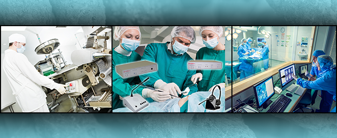 The Professional Communications Solution for Healthcare, Detention, and Industry