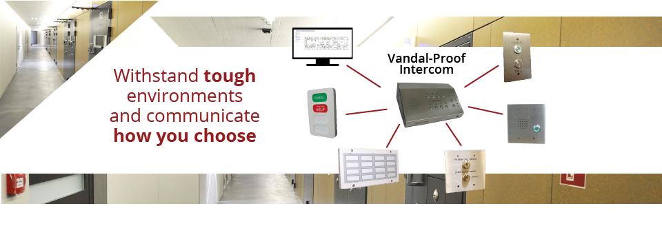 Tech Works' complete vandal-proof intercom package